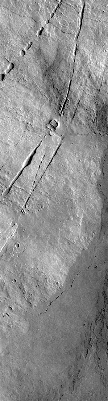 Pavonis Mons flank (THEMIS_IOTD_20180704)