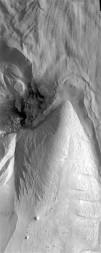 Slides and deposits in Ophir Chasma (THEMIS_IOTD_20180713)