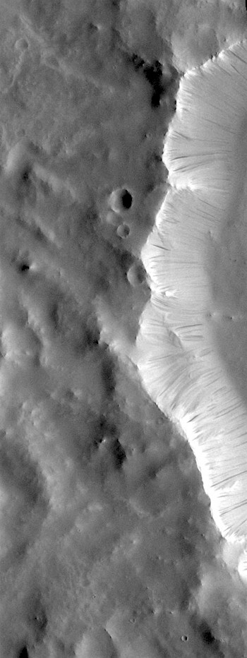 Dark slope streaks (THEMIS_IOTD_20180809)