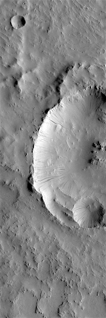 Dusty slopes in Terra Sabaea (THEMIS_IOTD_20180807)