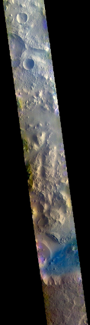Nepenthes Mensa in false color (THEMIS_IOTD_20180920)