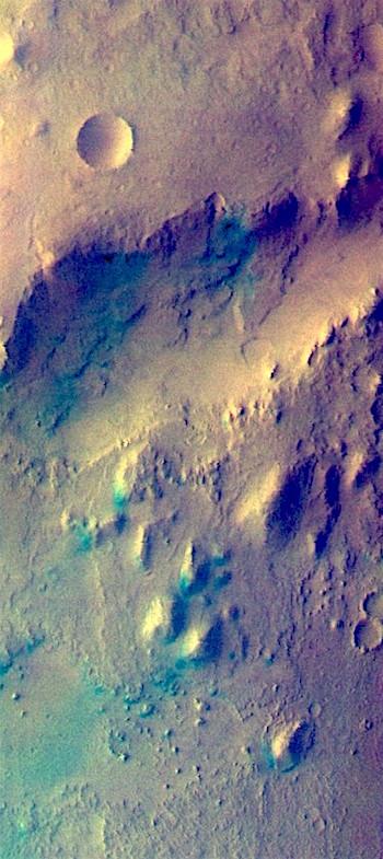 Nili Fossae in false color (THEMIS_IOTD_20180910)