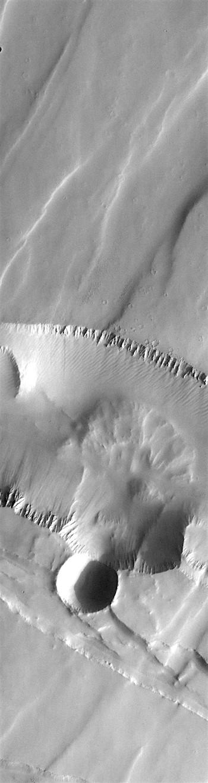 Fault patterns in Noctis Labyrinthus (THEMIS_IOTD_20181030)