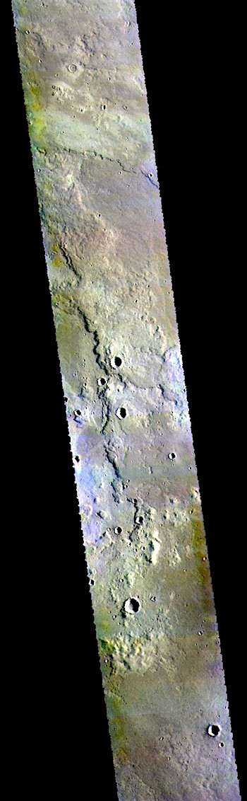 Volcanic plains east of Hecates Tholus (THEMIS_IOTD_20181016)