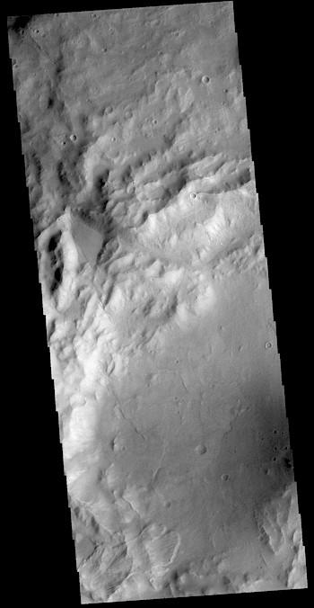 Crater landslide (THEMIS_IOTD_20181115)