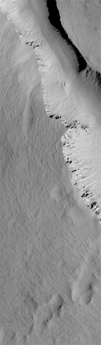 Asimov Crater rim and infill (THEMIS_IOTD_20181212)