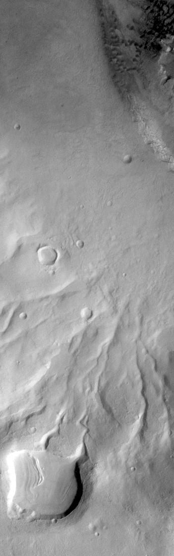 Crater rim gullies in Noachis (THEMIS_IOTD_20181210)