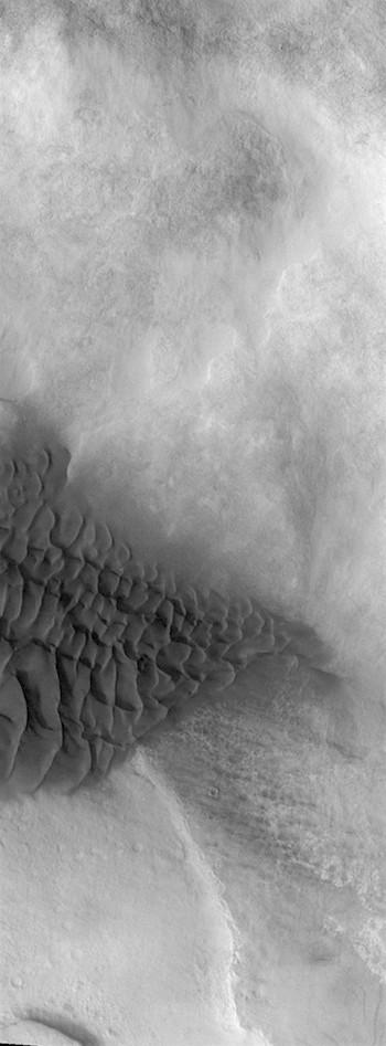 Halley Crater dunes (THEMIS_IOTD_20181206)