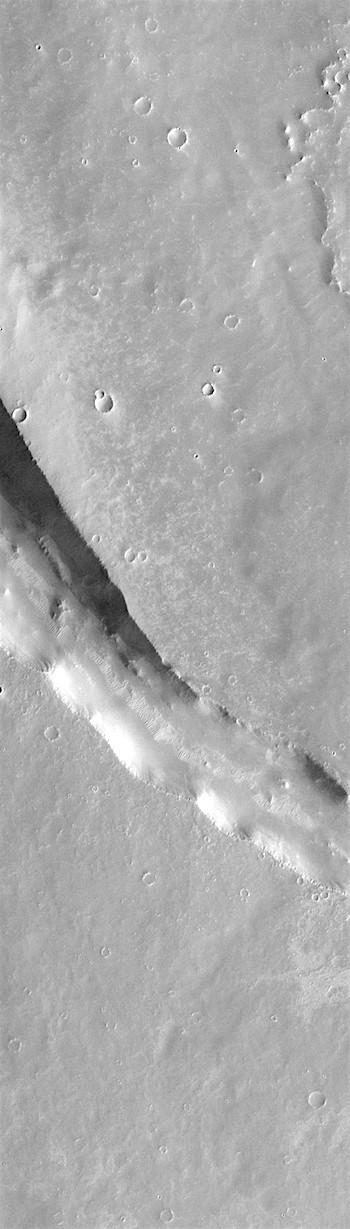 Syria Planum volcanic channel (THEMIS_IOTD_20181204)