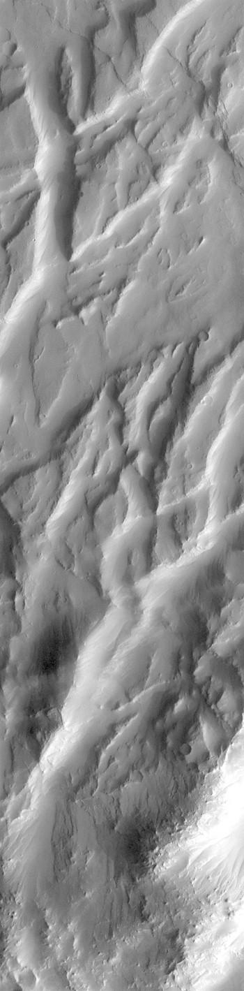 Tectonic chaos in Claritas Fossae (THEMIS_IOTD_20181227)