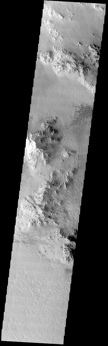 Central peaks in Hale Crater (THEMIS_IOTD_20190111)