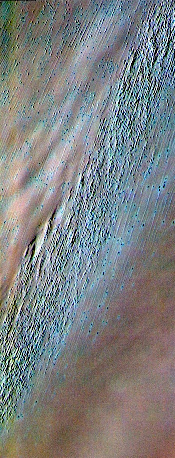 Chasma Boreale in false color (THEMIS_IOTD_20190225)