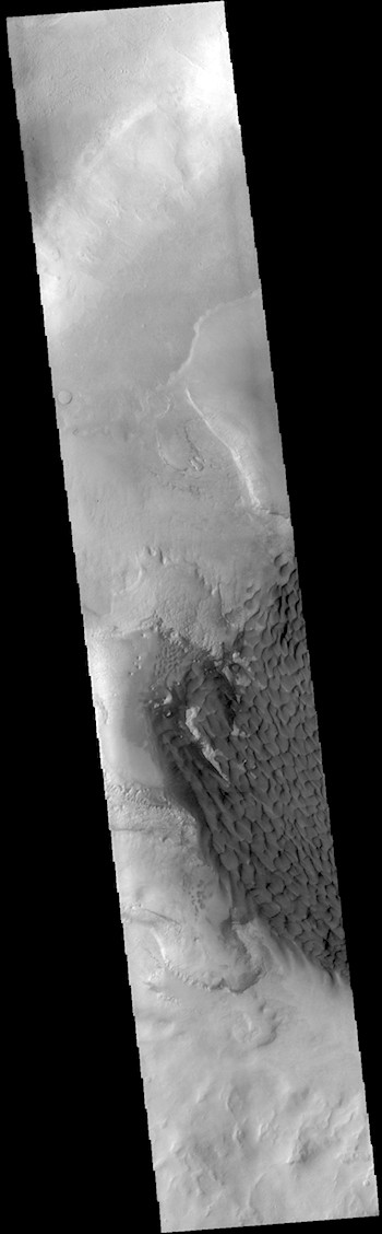 Sea of dunes in Rabe Crater (THEMIS_IOTD_20190205)