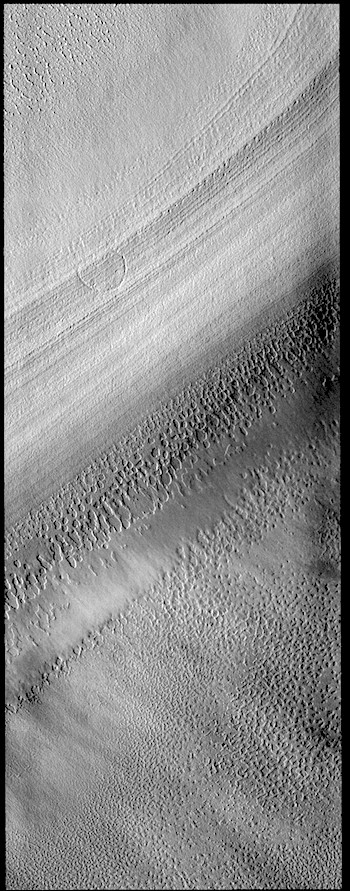 South polar ice cap layers (THEMIS_IOTD_20190315)