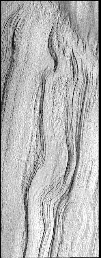 Southern polar ice cap layers (THEMIS_IOTD_20190321)