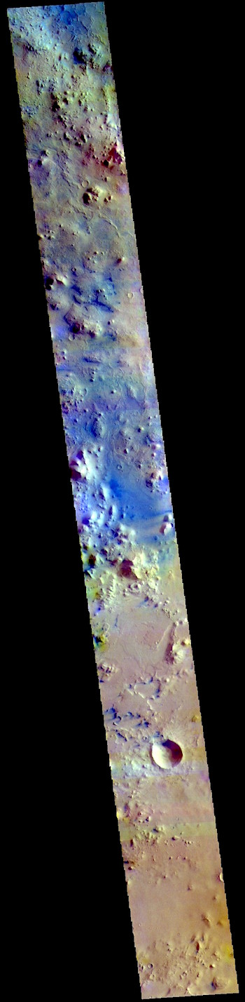 Terra Sabaea in false color (THEMIS_IOTD_20190305)