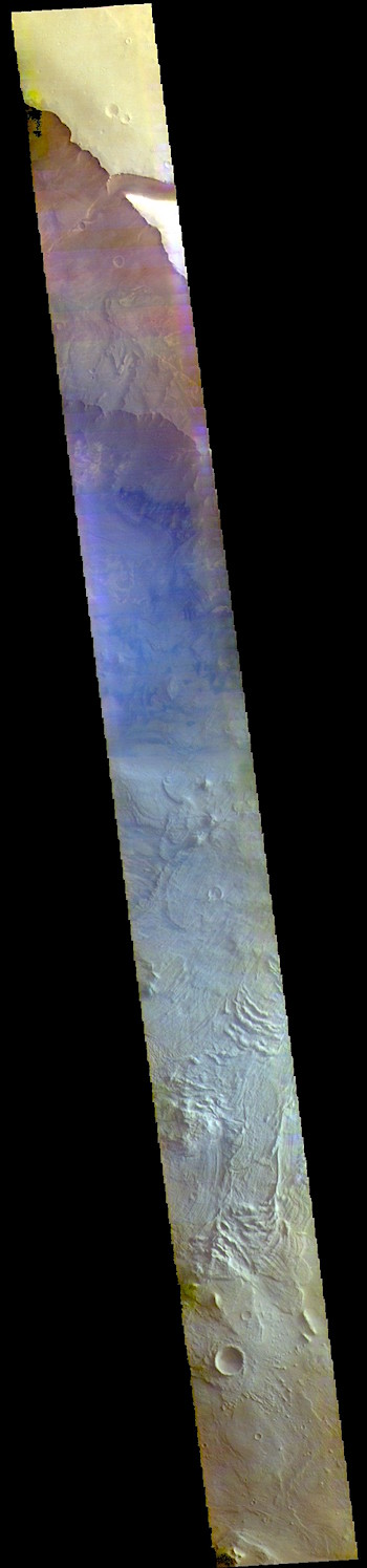 Melas Chasma in false color (THEMIS_IOTD_20190403)