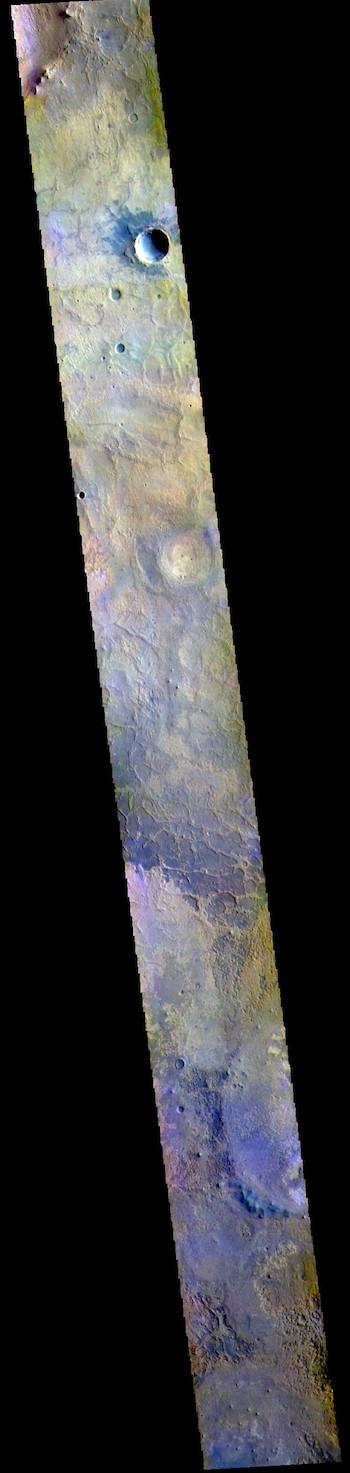 Meridiani Planum in false color (THEMIS_IOTD_20190402)