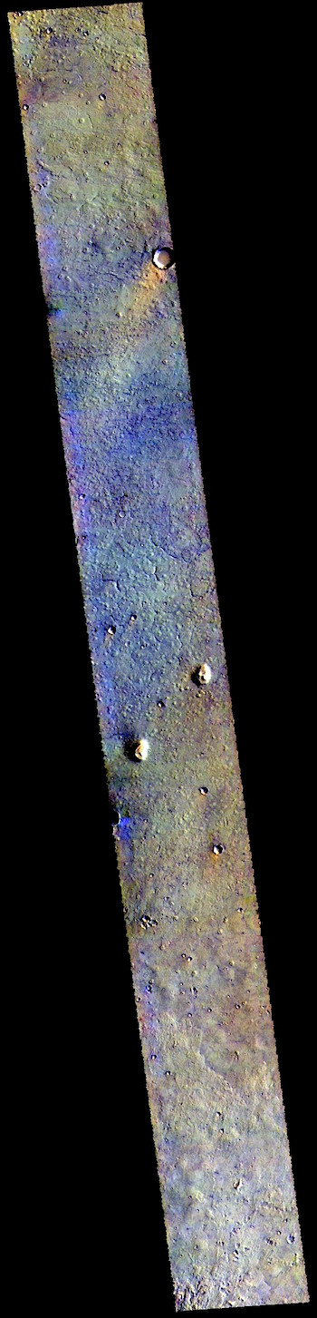 Northern plains in false color (THEMIS_IOTD_20190412)