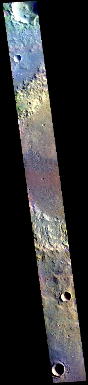 Briault Crater in false color (THEMIS_IOTD_20190506)