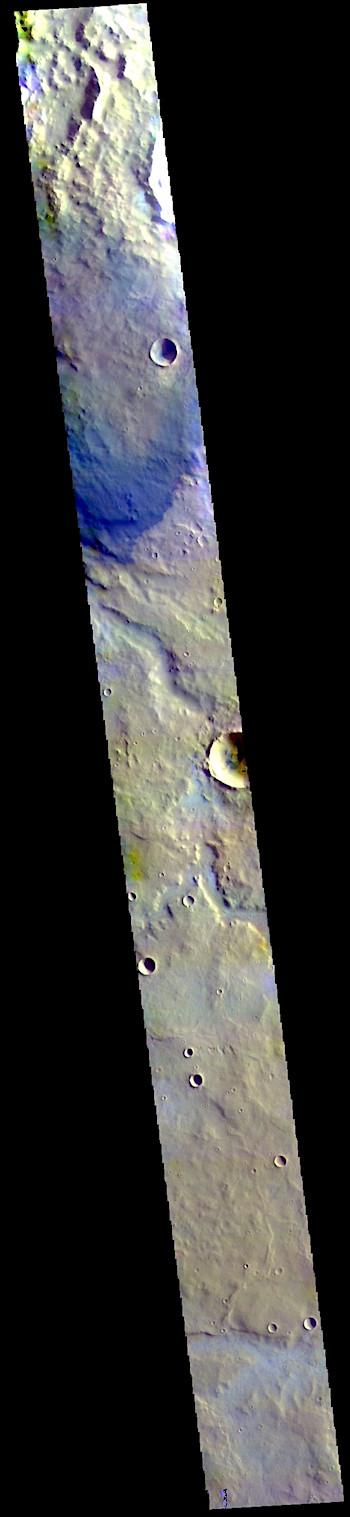 Terra Sabaea in false color THEMIS_IOTD_20190507)