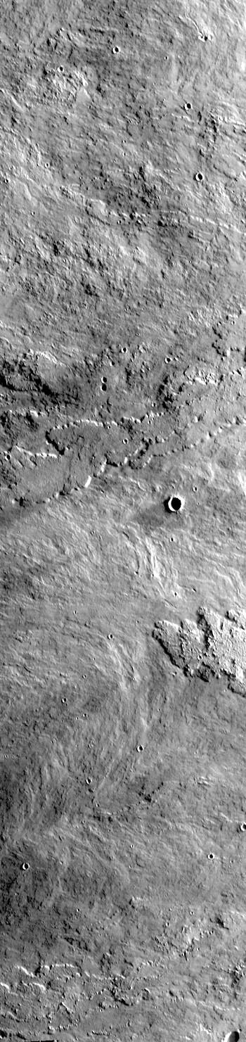 Arsia Mons lava flows (THEMIS_IOTD_20190823)