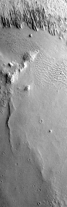 Medusae Fossae yardangs (THEMIS_IOTD_20190828)
