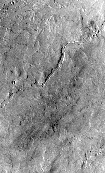 Pavonis Mons lava ribbons (THEMIS_IOTD_20190826)